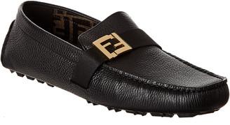 Fendi Leather Loafer