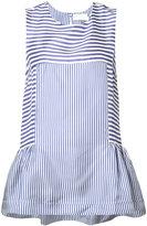 P.A.R.O.S.H. striped sleeveless top - women - Silk - M