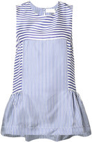 P.A.R.O.S.H. striped sleeveless top