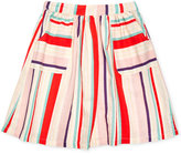 Margherita Kids by Margherita Missoni Patch Pocket Cotton Skirt, Little Girls (2-7)