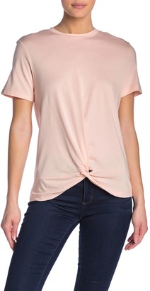 Velvet Heart Lizette Twist Hem T-Shirt