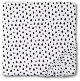 Circo Woven Fitted Crib Sheet - Drops
