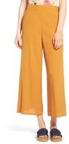Leith Women's High Waist Crop Wide Leg Pants