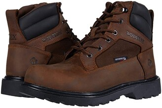 Wolverine Roughneck EPX 6 Steel Toe Work Boot (Brown) Men's Boots