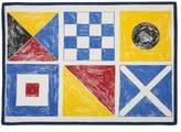 Thomas Paul Flags Sketch Tea Towel