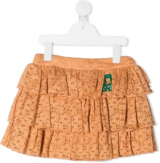 Mini Rodini Lace Frill Skirt