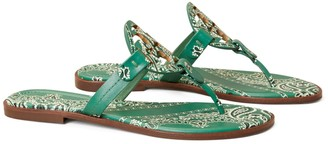 Tory Burch Miller Sandal, Printed Leather