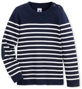 Boy's cotton sailor sweater