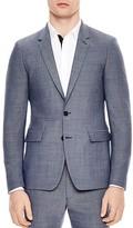 Sandro Notch Pinpoint Slim Fit Suit Separate