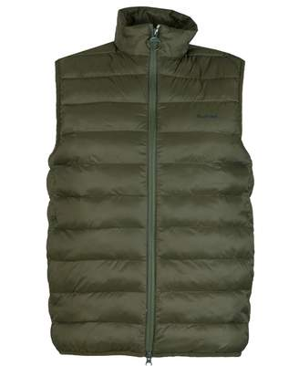 Barbour Bretby Down Filled Quilted Gilet Colour: OLIVE, Size: SMALL