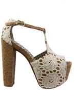 Dany Cream High Heels