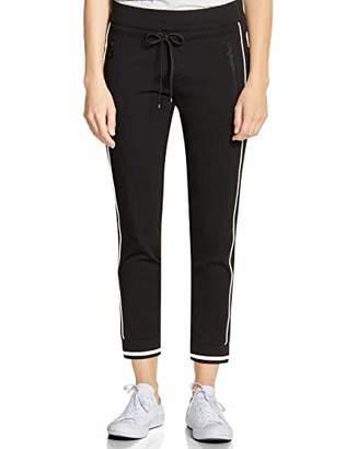 Street One Women's 372488 Bonny Loose Fit Trouser, (Black 10001), (Size: 42)