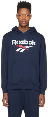 Reebok Classics Navy Classics Vector Hoodie