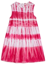Design History Girls' Sleeveless Tie-Dye Dress - Little Kid