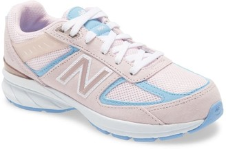 New Balance 990V5 Running Shoe - Wide Width Available (Toddler & Little Kid)