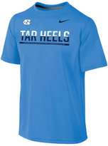 Nike North Carolina Tar Heels Legend Dri-fit Staff T-Shirt, Big Boys (8-20)