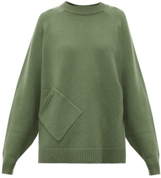 Tibi Oversized Cashmere Sweater - Womens - Green