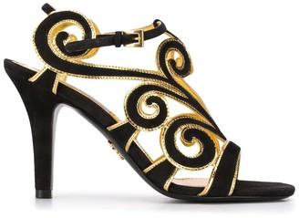 Prada Sandals Heel 90 Suede