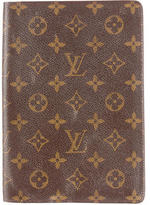 Louis Vuitton Monogram Notebook Cover
