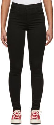 Levi's Levis Black 720 High-Rise Super Skinny Jeans