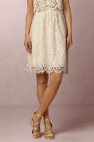 BHLDN Lydia Lace Skirt