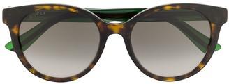 Gucci GG0702SK round-frame sunglasses