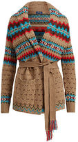 Polo Ralph Lauren Fair Isle Wool-Blend Cardigan