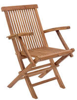 Zuo Modern Set of Two Regatta Folding Arm Chairs