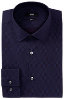 HUGO BOSS Printed Slim Fit Dress Shirt