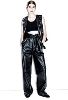 3.1 Phillip Lim High-waisted leather paper-bag pant