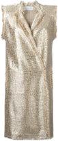 Gianluca Capannolo longline waistcoat - women - Cotton/Acrylic/Nylon/Polyester - 38