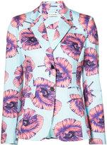 Altuzarra floral blazer - women - Cotton/Polyester/Spandex/Elastane/Viscose - 38
