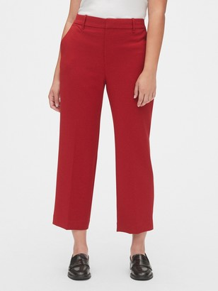Gap High Rise Wide-Leg Crop Pants