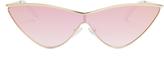 Le Specs X Adam Selman The Fugitive sunglasses