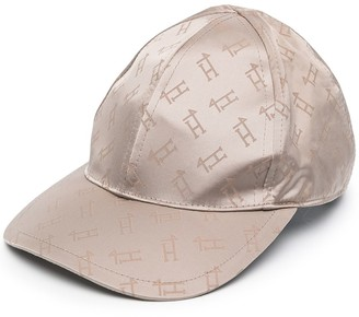 Herno All-Over Logo Baseball Cap
