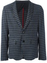 MSGM houndstooth plaid blazer