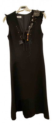 Moschino Black Wool Dresses