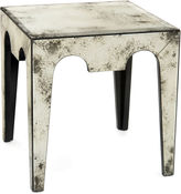 John-Richard Collection Mirabella Side Table, Foxed Mirror