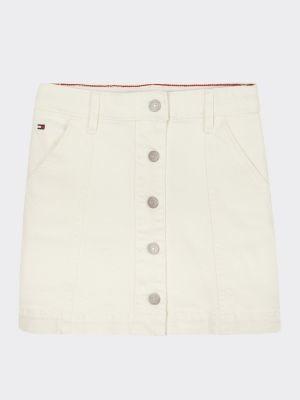 Tommy Hilfiger Denim Button Skirt