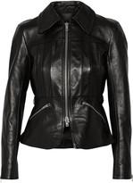 Alexander Wang Leather Biker Jacket - Black