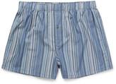 Paul Smith Striped Cotton Boxer Shorts