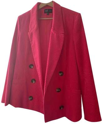 Zara Pink Velvet Jacket for Women