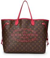 Louis Vuitton Raspberry Monogram Canvas Ikat Flower Neverfull GM