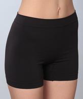 Hanes Black T243 ComfortFlex Fit® Boyshorts - Plus Too