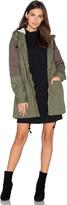 RVCA Midnight Faux Fur Lined Jacket