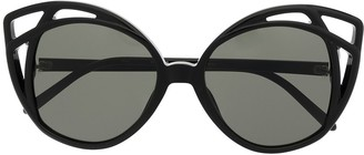 Linda Farrow Tinted Cat-Eye-Frame Sunglasses