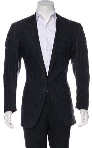 Dolce & Gabbana Linen-Blend Blazer