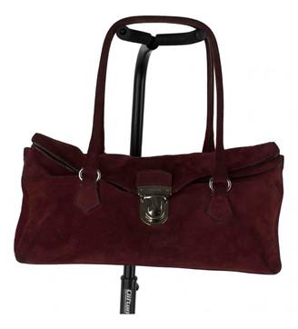 Prada Red Suede Handbags