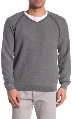 Tailor Vintage Reversible V-Neck Sweater