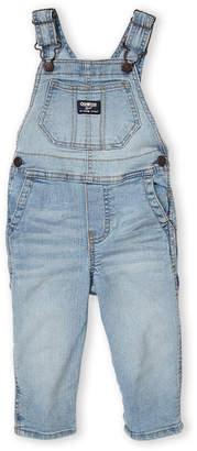 Osh Kosh Infant Girls) 5-Pocket Denim Overalls